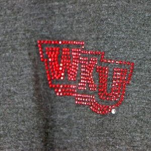 Tops - Western Kentucky Hilltoppers Bedazzled T-Shirt